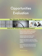 Opportunities Evaluation The Ultimate Step-By-Step Guide