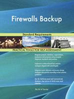 Firewalls Backup Standard Requirements