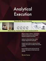 Analytical Execution Standard Requirements