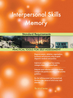 Interpersonal Skills Memory Standard Requirements
