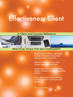 Effectiveness Client A Clear and Concise Reference