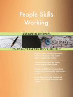 People Skills Working Standard Requirements