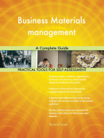 Business Materials management A Complete Guide