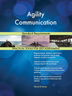 Agility Communication Standard Requirements