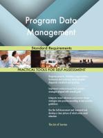 Program Data Management Standard Requirements
