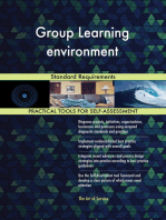 Group Learning environment Standard Requirements