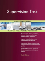 Supervision Task Standard Requirements