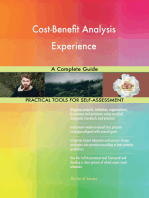 Cost-Benefit Analysis Experience A Complete Guide