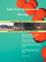 Sales force compensation Message Complete Self-Assessment Guide