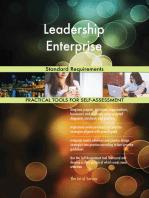 Leadership Enterprise Standard Requirements