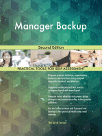 Manager Backup Second Edition