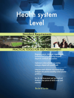Health system Level Standard Requirements