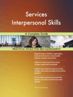 Services Interpersonal Skills A Complete Guide