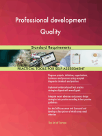 Professional development Quality Standard Requirements