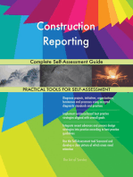 Construction Reporting Complete Self-Assessment Guide