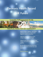 Electronic Health Record EHR Patient Complete Self-Assessment Guide