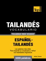 Vocabulario Español-Tailandés