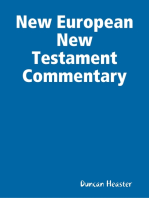 New European New Testament Commentary