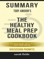 Summary of The Healthy Meal Prep Cookbook