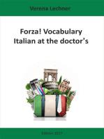 Forza! Vocabulary: Italian at the doctor's