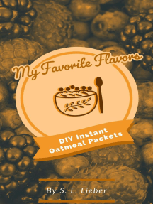DIY Instant Oatmeal Packets: My Favorite Flavors, #1