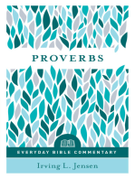 Proverbs- Everyday Bible Commentary