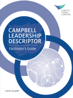 Campbell Leadership Descriptor Facilitator's Guide