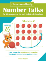 Classroom-Ready Number Talks for Kindergarten, First and Second Grade Teachers