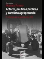 Actores, políticas públicas y conflicto agropecuario: A diez años de la 125