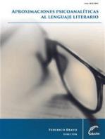 Aproximaciones psicoanalíticas al lenguaje literario