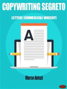 Copywriting Segreto: Lettere Commerciali Vincenti