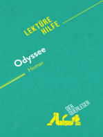 Odyssee von Homer (Lektürehilfe): Detaillierte Zusammenfassung, Personenanalyse und Interpretation
