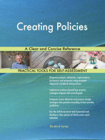 Creating Policies A Clear and Concise Reference