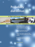 Probability distribution A Clear and Concise Reference