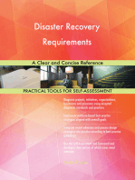Disaster Recovery Requirements A Clear and Concise Reference