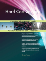 Hard Cost Savings Complete Self-Assessment Guide