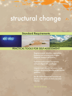 structural change Standard Requirements