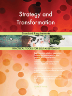 Strategy and Transformation Standard Requirements