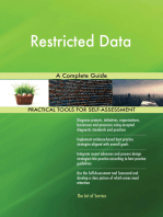 Restricted Data A Complete Guide