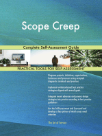 Scope Creep Complete Self-Assessment Guide