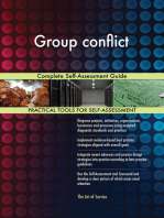 Group conflict Complete Self-Assessment Guide