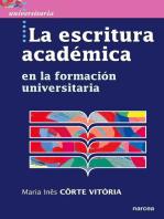 La escritura académica