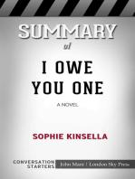 Summary of I Owe You One