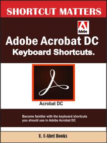 Adobe Acrobat DC Keyboard Shortcuts