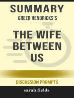 Summary of The Wife Between Us by Greer Hendricks (Discussion Prompts)