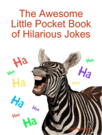 The Awesome Little Pocket Book of Hilarious Jokes