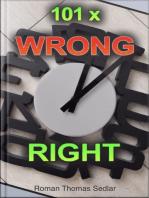 EN-DE 101x Wrong Right
