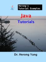 Java Tutorials - Herong's Tutorial Examples