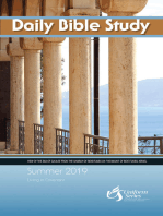 Daily Bible Study Summer 2019