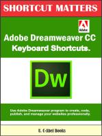 Adobe Dreamweaver CC Keyboard Shortcuts